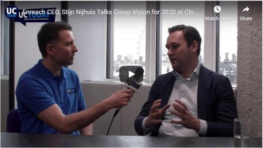 Enreach CEO, Stijn Nijhuis Talks Group Vision for 2020