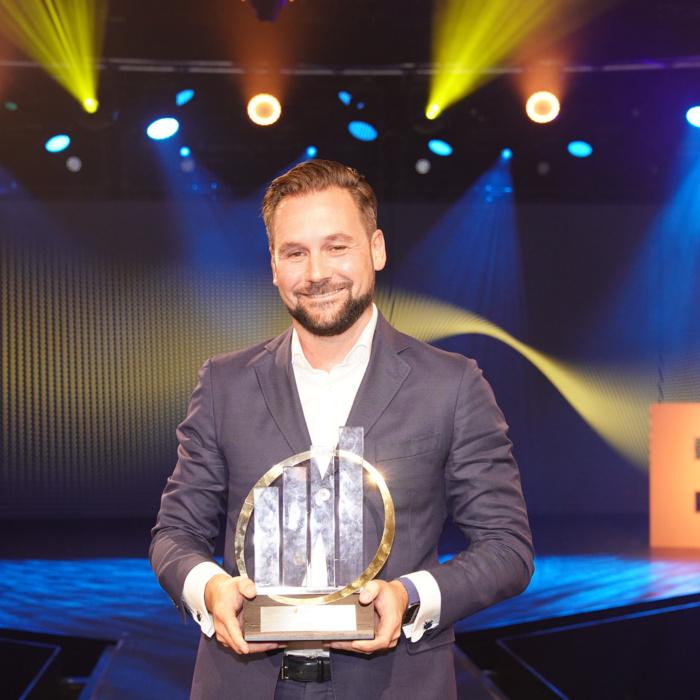 Stijn Nijhuis, CEO Enreach, winner of the Dutch EY Entrepreneur Of The Year 2021